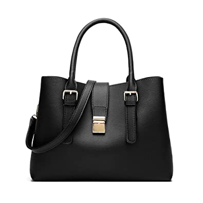 Women Leather Handbag Fashion Tote Bag Hobo Shoulder Bags Satchel Purse For  Lady 25ba80681b85a