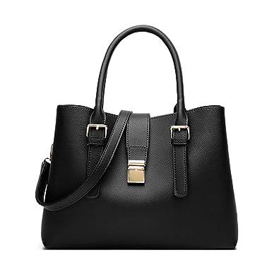 dd0c84ecb7d7 Women Leather Handbag Fashion Tote Bag Hobo Shoulder Bags Satchel Purse For  Lady