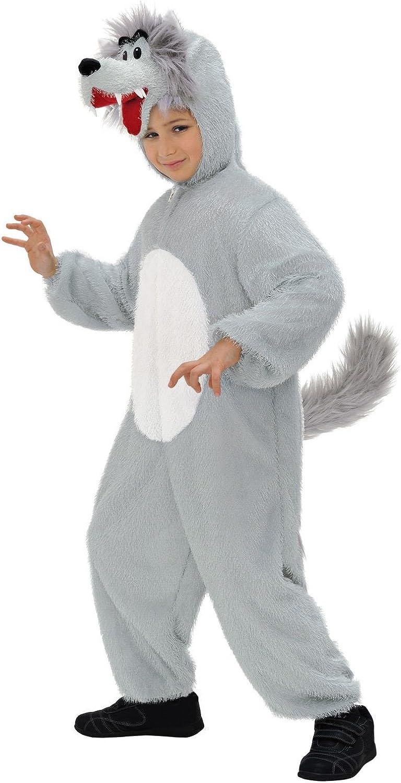 WIDMANN Widman - Disfraz de lobo infantil, talla 3-5 años (S/9790O ...