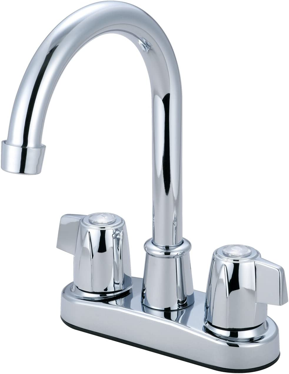 Olympia Faucets B-8171 Two Handle Bar Faucet, Chrome Finish