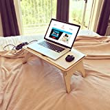 Standing Desk / Wavy Sit-Stand Table / Laptop table / Bed desk / Laptop holder
