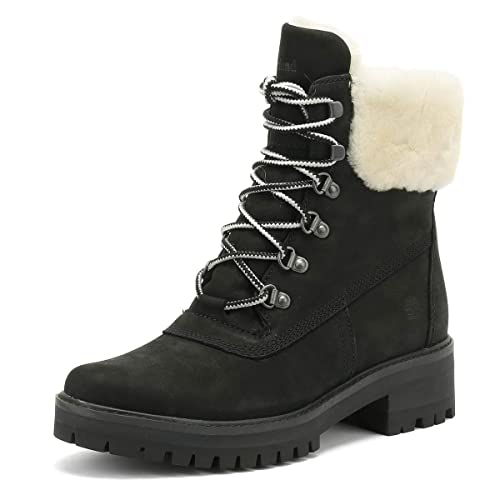 Timberland Courmayeur Valley Shearling Boots Black