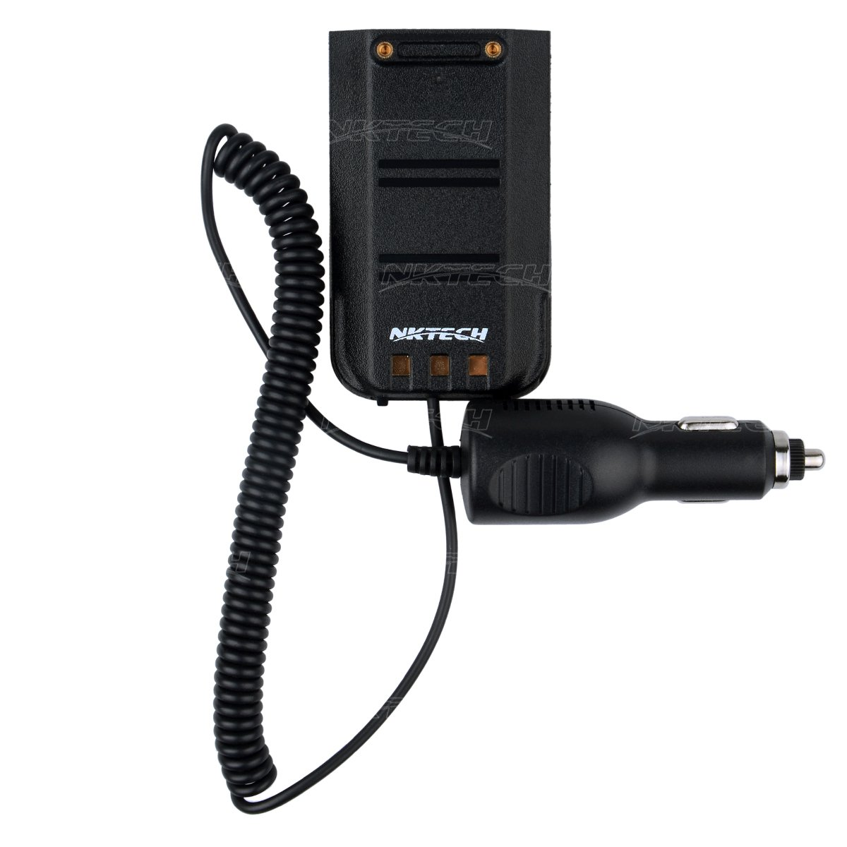 NKTECH Car Charger Battery Eliminator For TYT Tytera MD-380 NKTECH MD-380U MD-380V Digital Mobile Radio DMR Two Way Radio Transceiver Pack of 20 by NKTECH (Image #3)