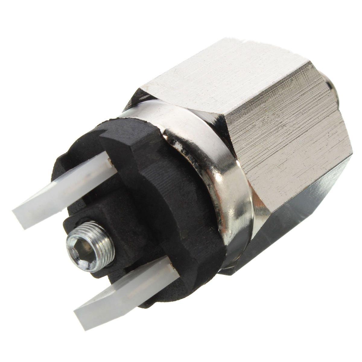 SODIAL Ugello Pressostato A Diaframma Regolabile con Porta da 1//8 Pollice Affidabile QPM11-NC