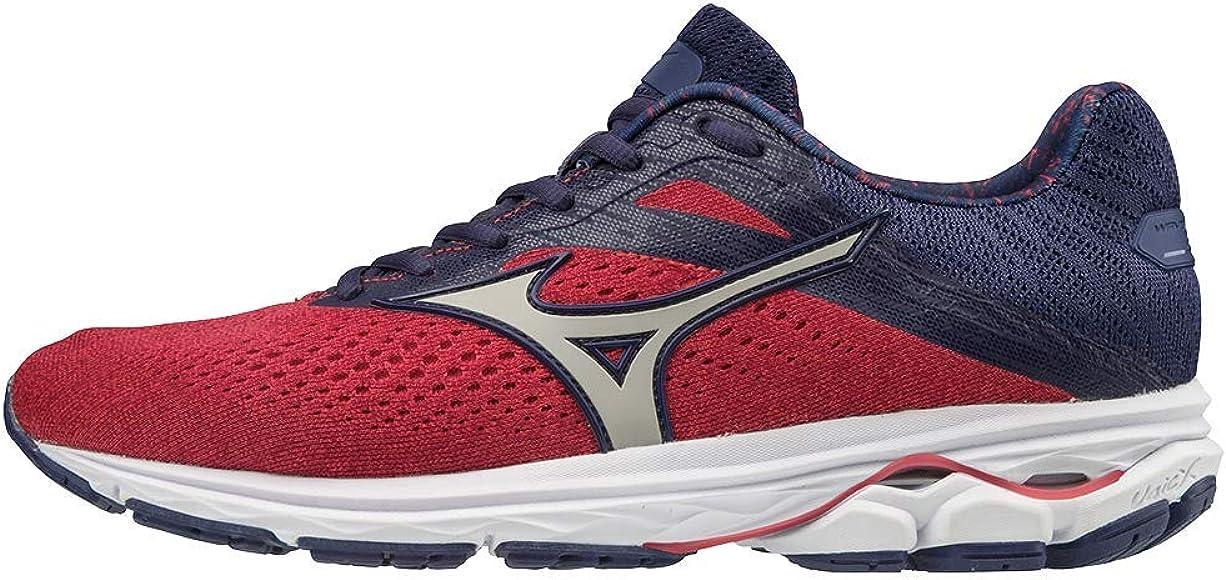 Mizuno Wave Rider 23, Zapatillas para Correr para Mujer, Púrpura Poción Plata, 37 EU: Amazon.es: Zapatos y complementos