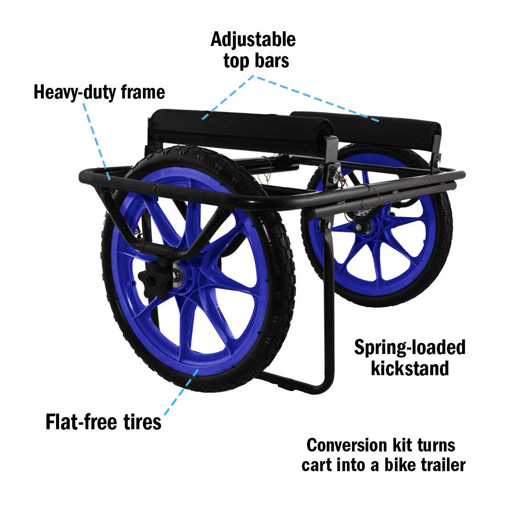 Seattle Sports Paddleboy ATC All-Terrain Center Kayak and Canoe Dolly Carrier Cart by Seattle Sports (Image #1)