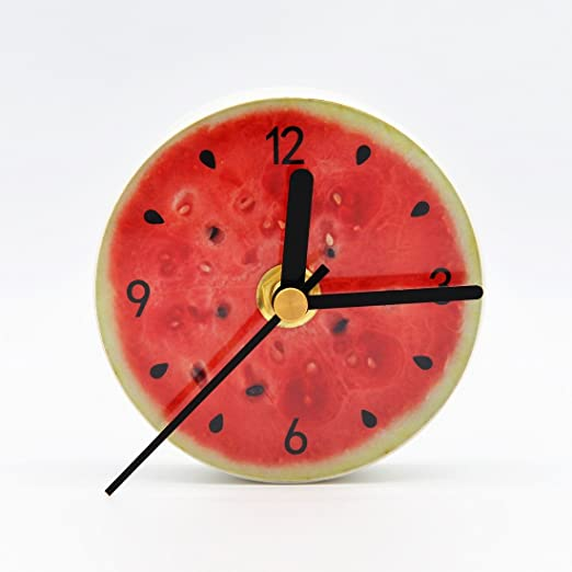 Natural Life Reloj de imanes para la nevera, superficie de ...