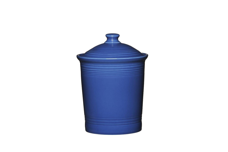amazon com fiesta 3 quart large canister scarlet kitchen