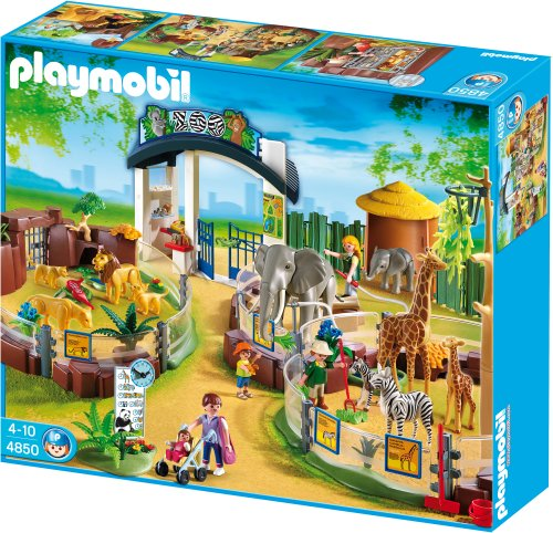 PLAYMOBIL Large Zoo with Entrance (Zoo Playmobil)