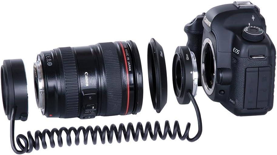 Kooka KK-AT5 Bague dinversion pour Canon Noir