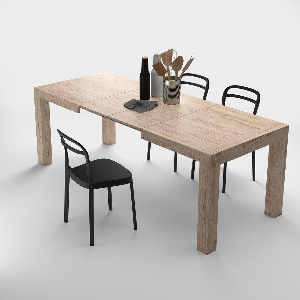 Comfort Home Innovation Table De Salle A Manger Extensible Jusqu A