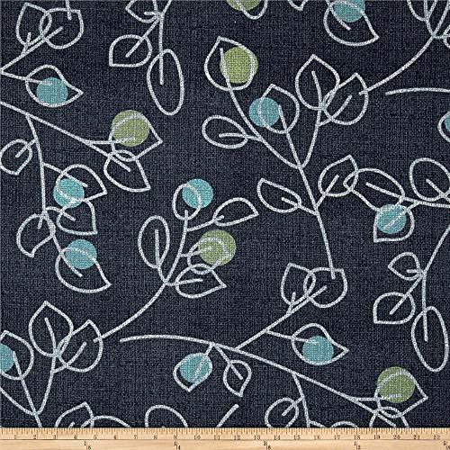 Magnolia Home Fashions 0559171 Macaulay Blue Fabric by the Yard
