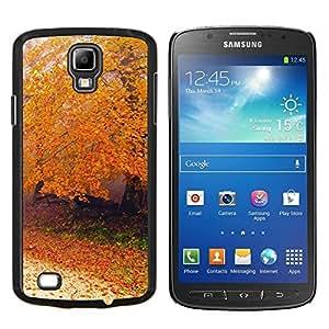 For Samsung Galaxy S4 Active i9295 Case , Naturaleza Montañas Sunset- Diseño Patrón Teléfono Caso Cubierta Case Bumper Duro Protección Case Cover Funda