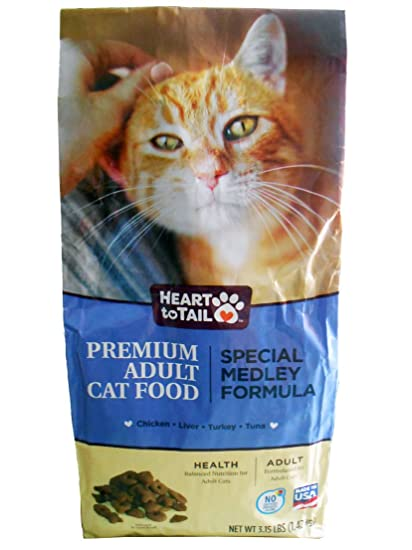 Heart to Tail Premium Adult Cat Food Special Medley Formula 3.15 LBS