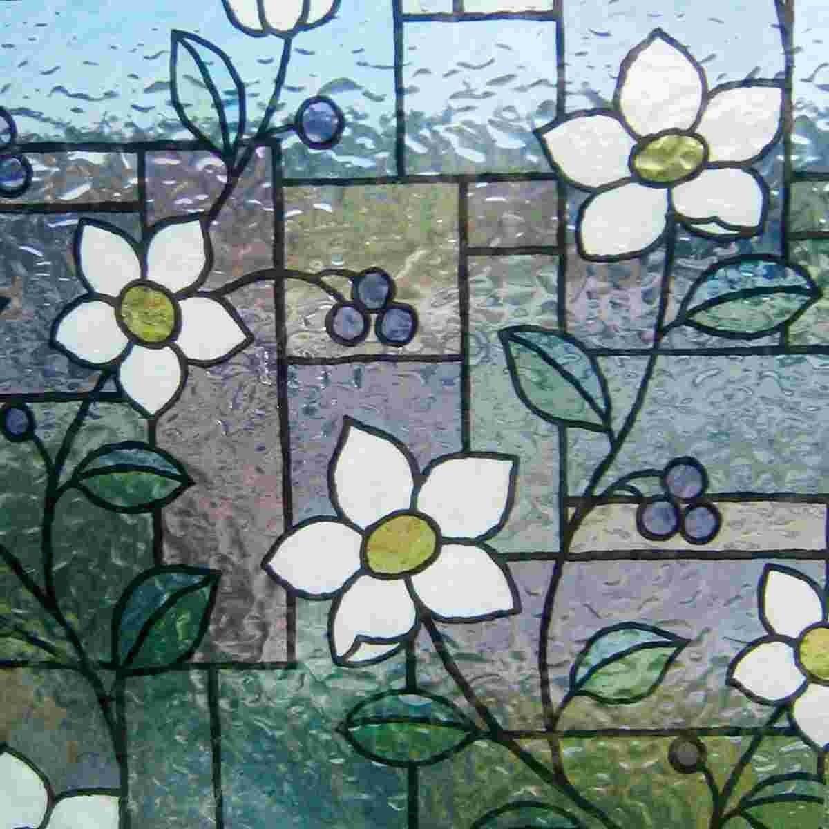 Statische Dekorfolie Fensterfolie für Fenster & Türen GLC 4657