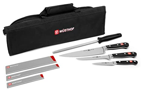 Amazon.com: Wüsthof Classic – Cuchillo Roll Kit con Bonus ...