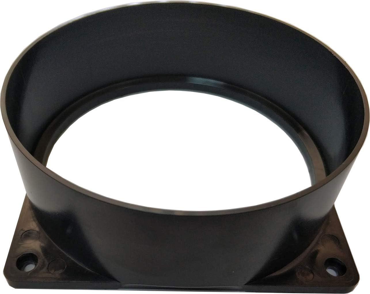 Antminer T9 S1 S3 S5 S7 S9 A3 D3 L3 V9 120mm High Temp Fan Duct 5 INCH USA made