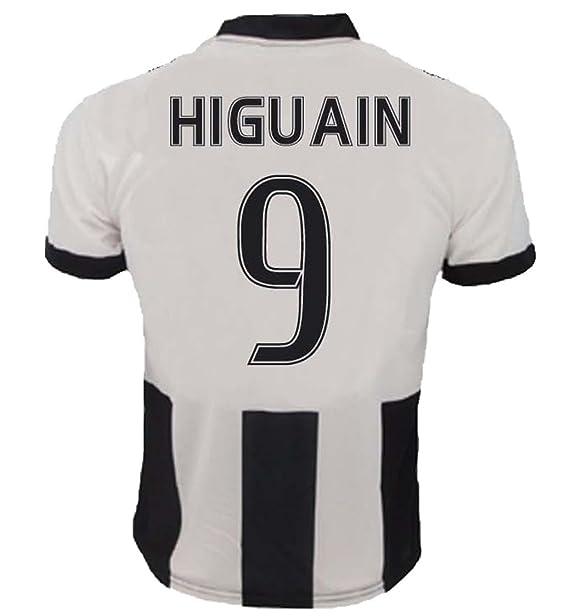 Camiseta Jersey Futbol Juventus Gonzalo Higuain 9 Replica Para Hombre  Autorizado  Amazon.es  Deportes y aire libre 2fa4d45a9bef3