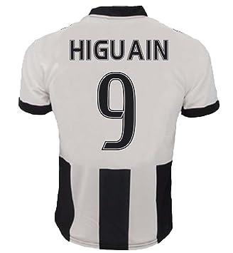 Camiseta Jersey Futbol Juventus Gonzalo Higuain 9 Replica Para Hombre Autorizado: Amazon.es: Deportes y aire libre