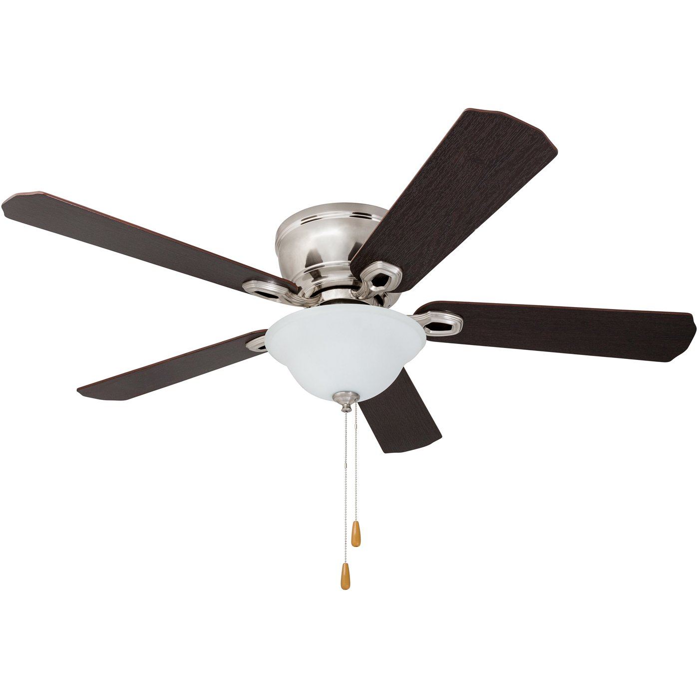 Prominence Home 80031-01 Woodmere Low-Profile Hugger Ceiling Fan