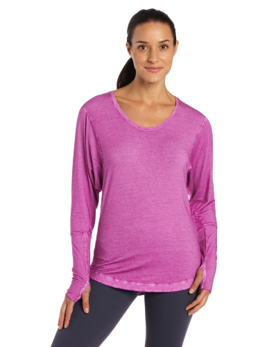 New Balance Womens Chai Tunic Top, Wood Violet, X-Small