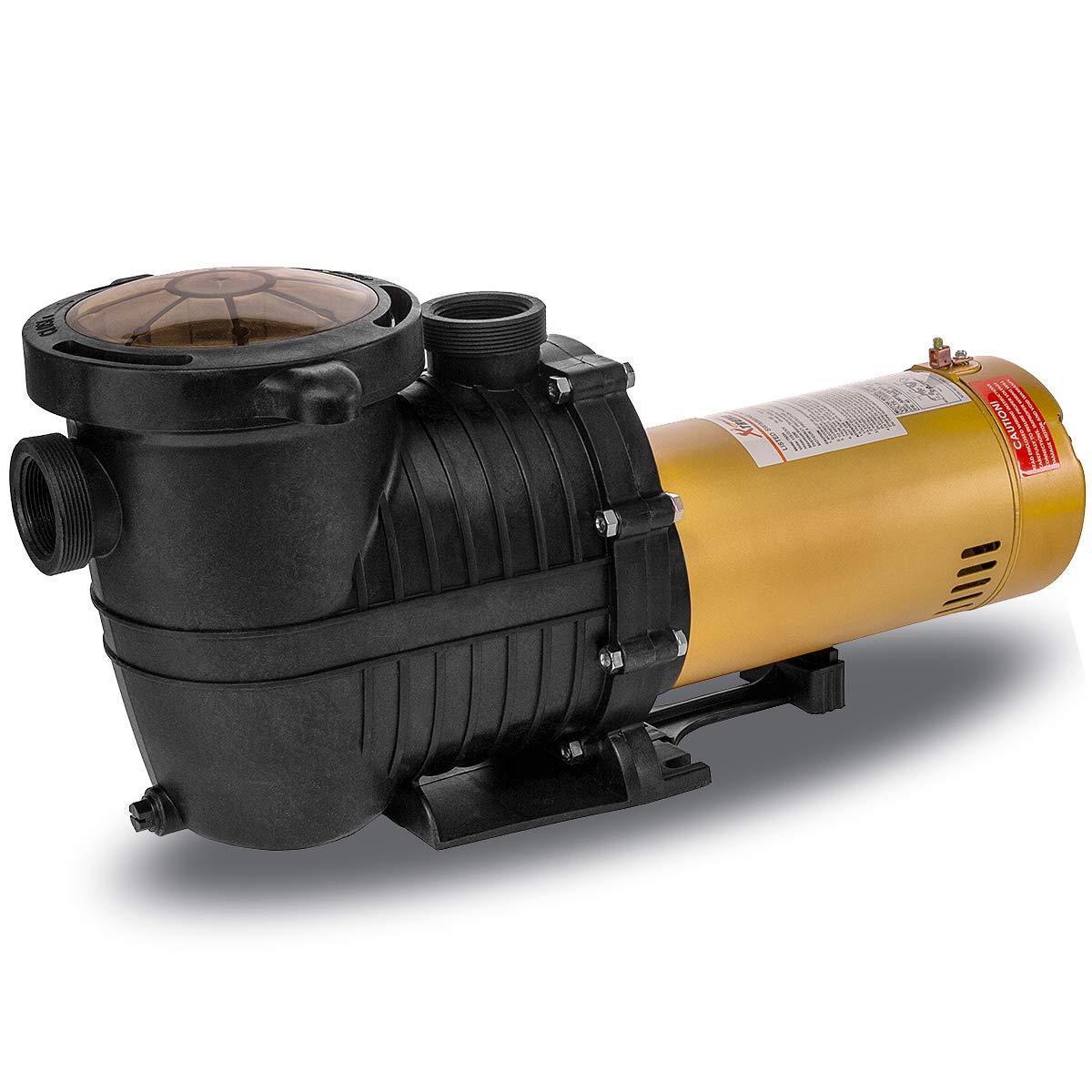 "XtremepowerUS 1.5HP Inground Pool Pump 5280GPH 1.5"" NPT Inlet/Outlet 115V Dual Watt"