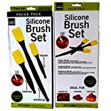Best Wholesale Lot Bulk 114 boxes of 3 pc Professional Quality Silicone Chef Pastry,BBQ, Basting Brushes