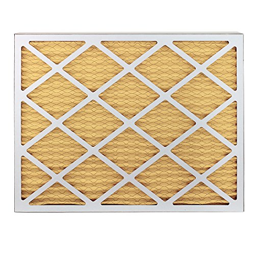 FilterBuy 24x36x1 MERV 11 Pleated AC Furnace Air Filter, (Pack of 4 Filters), 24x36x1 – Gold by FilterBuy (Image #2)