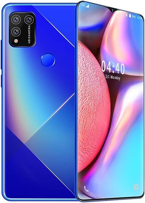 S30 teléfono móvil de 6,7 Pulgadas FHD 4G SIM-Libre Smartphone, Rear Triple Cámaras (13 MP 24MP), 8GB 512MB, batería del teléfono Celular Móvil desbloqueo, 4800mAh de la batería, 4G Dual SIM,Blue: Amazon.es: