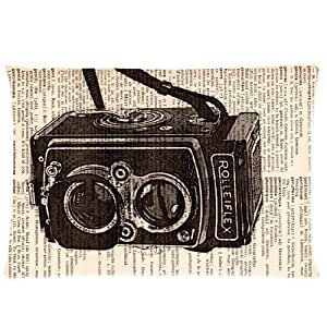 LarryToliver You deserve to have 2 way cloth 20 X 30 inch pillowcase Creative Vintage Camera best pillow cases(one side)