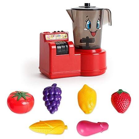 Hamkaw Juguete de Cocina para niños, Juguete eléctrico de ...