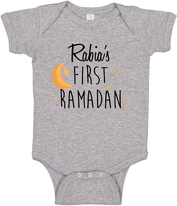 Eid Mubarak bodysuit cute boy girl clothes My first Ramadan Pandemic onesie Islamic shirt Eid gifts Eidi Muslim gifts Iftar suhoor