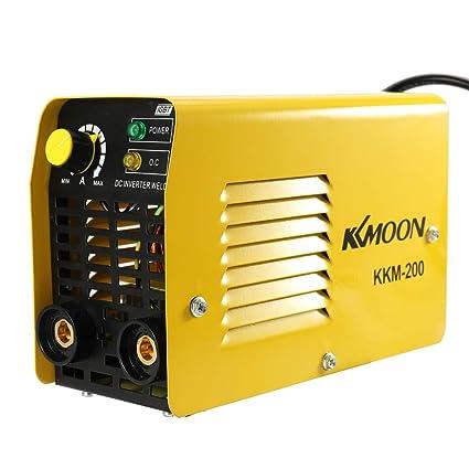 KKmoon Inversores de corriente manual de la soldadora de arco del inversor DC para la industria