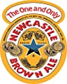 Newcastle Brown Ale Vinyl Decal (Any Size) Newcastle Brown Ale Beer Stickers for car, bar, Laptop, tumblers