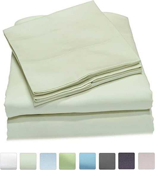 Flat Sheets 400 TC Thread Count 100/% Egyptian Cotton Extra Deep Fit Fitted