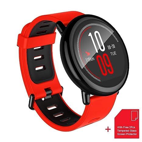 Reloj Inteligente Deportivo Amazfit Pace Seguimiento de Salud y Fitness Monitor de Ritmo Cardíaco Bluetooth 4.0