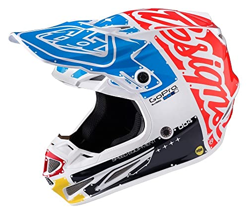 Troy Lee Designs Factory Adult SE4 Carbon Motocross Motorcycle Helmet