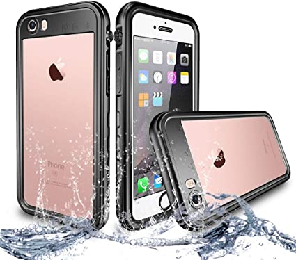 NewTsie Custodia Impermeabile iPhone 6/6s Plus, IP68 Certificato Antiurto Cover Slim Subacquea Caso Full Protezione Custodia Protettiva per iPhone ...