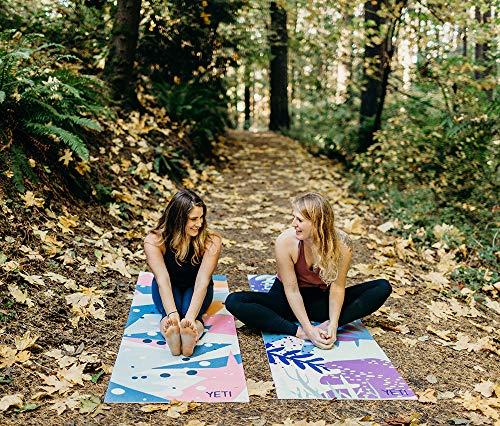 Non-Slip Non-Toxic Yoga Mat ¼ inch Thick Eco-Friendly Washable