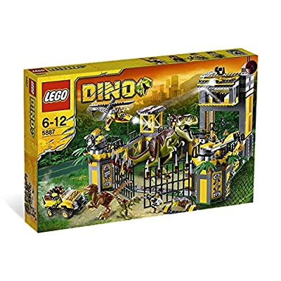 LEGO Dino Defense HQ 5887: Toys & Games