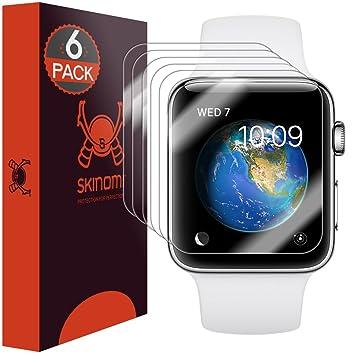 Skinomi SK27508 - Protector de pantalla, para Reloj inteligente Apple Watch Series 2 & Series
