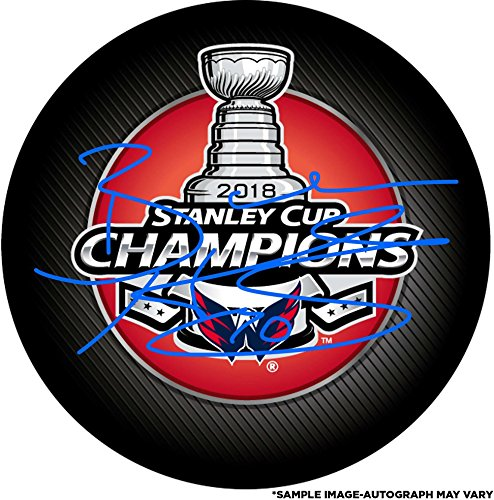 Braden Holtby Washington Capitals 2018 Stanley Cup Champions Autographed Stanley Cup Champions Logo Hockey Puck - Fanatics Authentic Certified