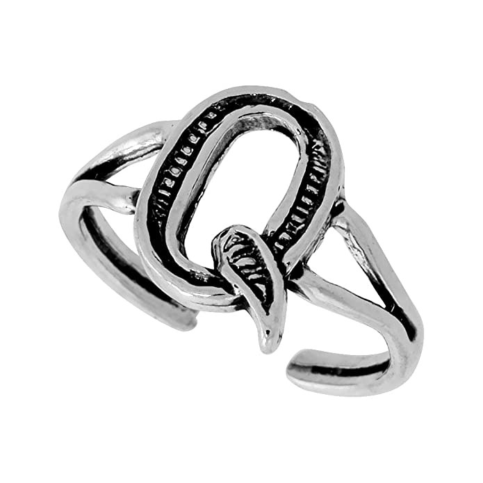 Clothing Shoes and Jewelry Women Body Toe Rings Nice Gift for Teenage Girls and Women|Also Nice as Adjustable Thumb Ring|Solid Sterling Silver