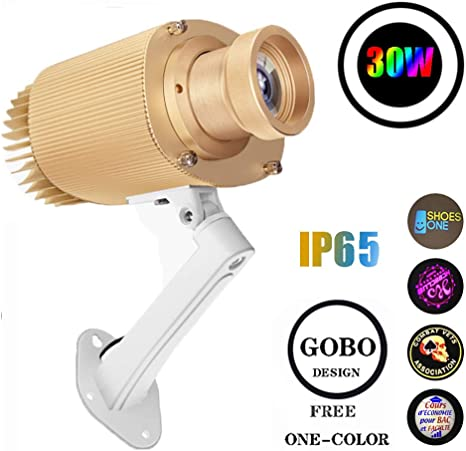 Logotipo de LED Proyector resistente a la intemperie IP65 con un ...