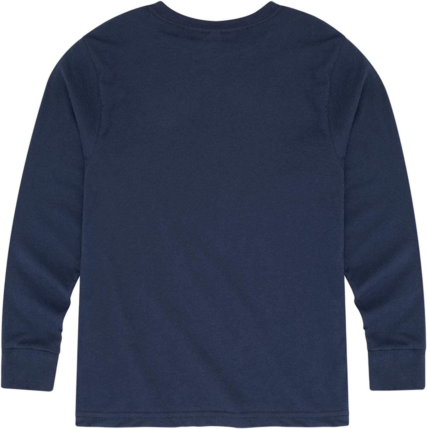 Toddler Long Sleeve TEE-2T Navy High Fives and Fist Bumps