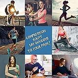 5 Pairs Copper Compression Ankle Socks Women & Men