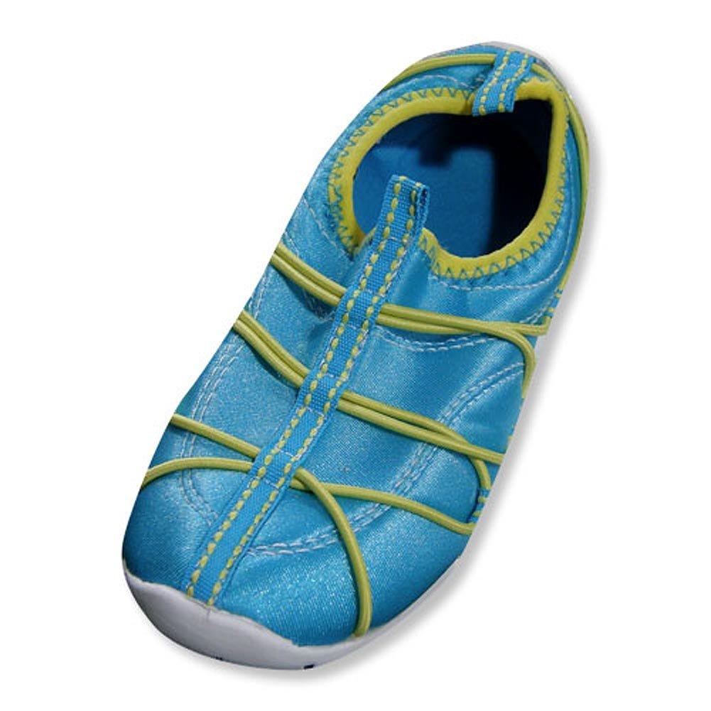 Girls Aqua Shoe Private Label