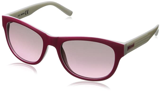 Just Cavalli Gafas de Sol JC559S_74B Blanco/Fucsia: Amazon ...