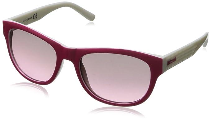 Just Cavalli Gafas de Sol JC559S_74B Blanco/Fucsia: Amazon ...