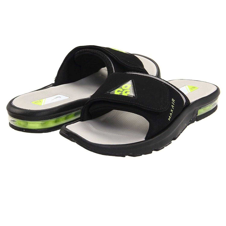 d6ddd8f341e6 ... Mens Flip Flops 363131-003 Amazon.com Nike Air Moray 2 ACG Slide  363131-003 BlackMedium Grey-Volt ...